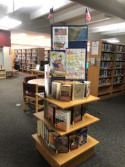 The Lakewood Park Library had a display featuring books about the U.S. Constitution during September as part of a month-long celebration of the 232nd  anniversary of the signing of the Constitution.