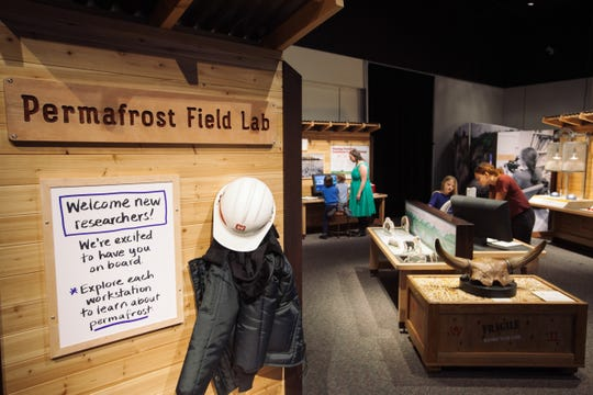 UNDER THE ARCTIC: DIGGING INTO PERMAFROST is at the Upcountry History Museum