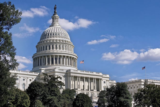 United States Capital building in Washington, D.C.