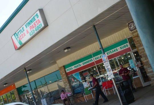 Little Vinnie's Pizza & Pasta on Faulkland Road in Chestnut Run Shopping Center.