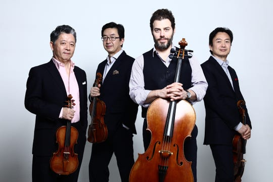 The Shanghai Quartet will perform at the Music Series at Akin on 7:30 p.m. Tuesday, Oct. 8 in the Akin Auditorium, Midwestern State University.