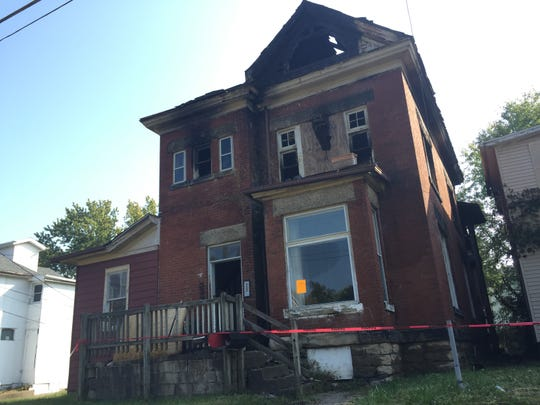 The house located at 230 Luck Ave. went up in smoke in September. The property was previously owned by John Kemp and was a hub for Real Riders gang activity.