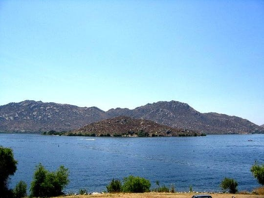 """Although a mere 2,000 acres, this Southern California lake near Riverside is a gem, with plenty of nine-pound bass just waiting to be caught.""""It's simply one of the best fisheries on the West Coast right now,"""" Hall says."""
