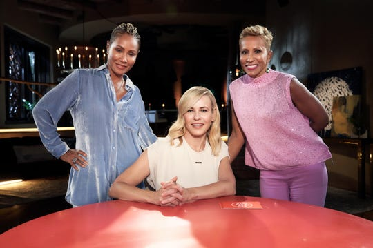 "Chelsea Handler talked white privilege on Facebook's ""Red Table Talk"" with Jada Pinkett Smith and Adrienne Banfield-Jones."