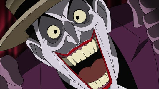 """Mark Hamill reprised his """"Batman: The Animated Series"""" role as the Joker for the animated movie """"Batman: The Killing Joke."""""""