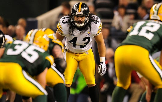 Troy Polamalu tormented offenses during his NFL career and was an eight-time Pro Bowler and four-time All-Pro.