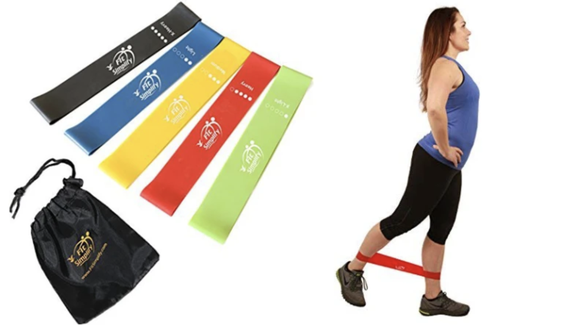 You can use these bands for exercise or for rehabbing injuries.