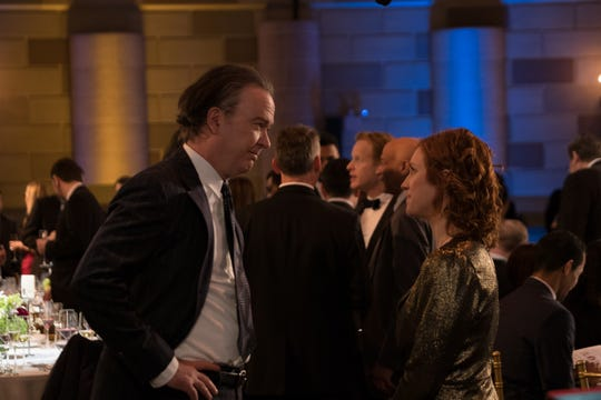"""Timothy Hutton and Brittany Snow in """"Almost Family."""""""