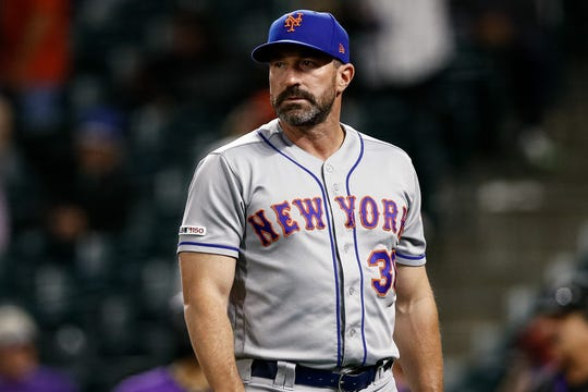 The Mets hired Callaway before the 2018 season.
