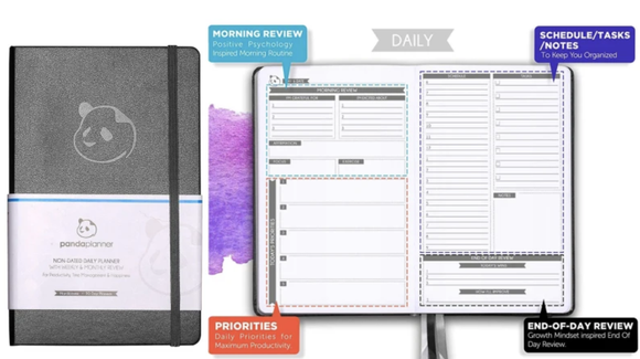 Keep track of everything from your daily tasks to long-term goals.