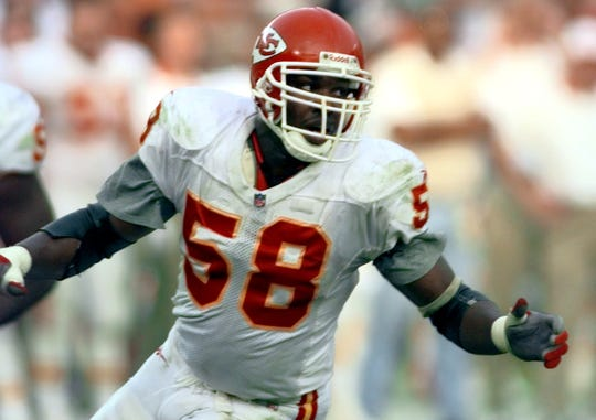 Derrick Thomas holds the record for sacks in a single game (7).