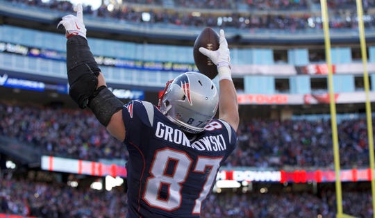 Rob Gronkowski was a three-time Super Bowl champion and was voted a Pro Bowler five times.