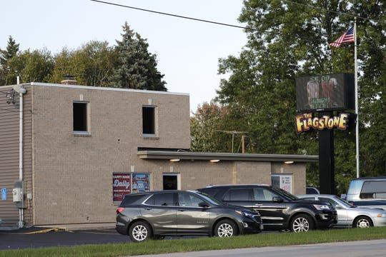 The Flagstone Bar and Grill is located on Prospect Avenue in Grand Chute. Megan Rogers left the bar minutes before she was fatally injured on July 26, 2017.