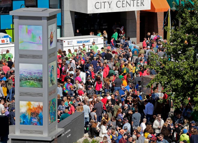 Members of the Appleton community and beyond celebrated Octoberfest on Sept. 28 in downtown Appleton.