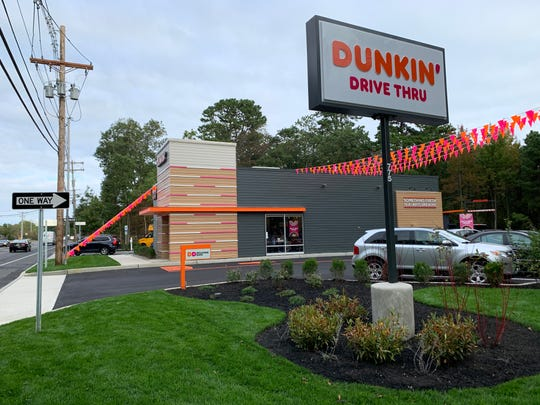 Dunkin' on Hope Road in Eatontown opened on Oct. 1, 2019.