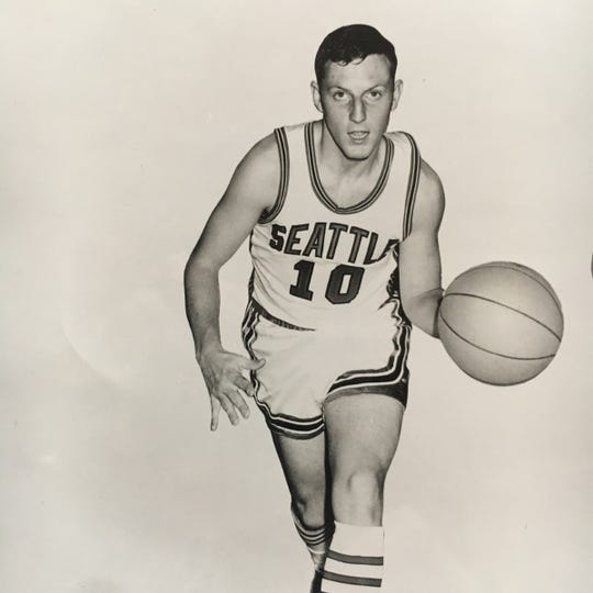Mike Acres lettered three years for Seattle University when the school was the top college team in the state.
