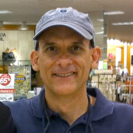 John Cielukowski, founding membe of EarthSave Space Coast