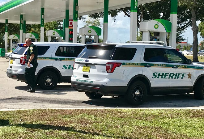 Brevard County Sheriff's Office deputies converged on BP-Circle K after a Palm Bay road rage incident.