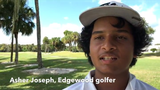 Edgewood eighth-grader Asher Joseph won the Cape Coast Conference boys golf title at The Savannahs on Tuesday.