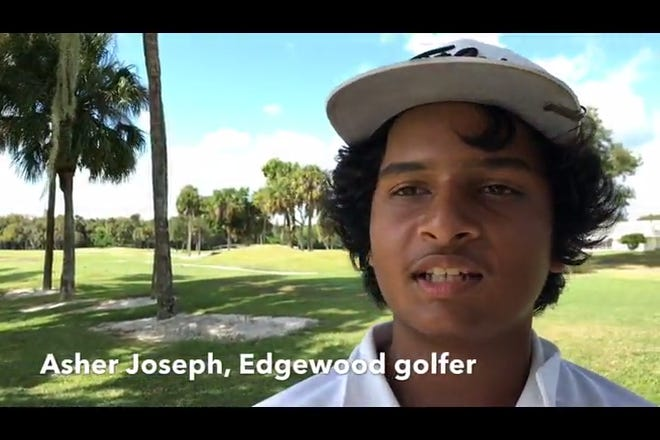 Edgewood eighth-grader Asher Joseph won the Cape Coast Conference boys golf title at The Savannahs on Tuesday.
