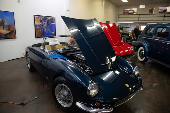 An Apollo, one of more than 200 cars up for auction Oct. 4-5 at American Bank Center.