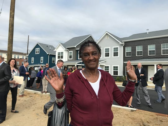 Cynthia Muse lived in Branch Village for 60 years. She moved last year into a building for seniors at the redeveloped site, and said she's grateful for the new housing.