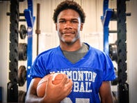 Hammonton's Jaiden Abrams is the South Jersey Football Player of the Week. Abrams rushed for 226 yards and scored a TD against Holy Spirit on Friday.