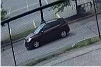 TheGreen Township Police Department is searching for a man who is accused of exposinghimself to juveniles on threedifferent occasions.Pictured is the suspect's vehicle.