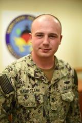 Joshua Baumstark, of Peapack-Gladstone, serves aboard a Navy submarine in Guam.