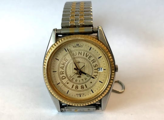 This Drake University watch, a graduation gift to Register Storyteller Daniel Finney more than 20 years ago, still teaches lessons today.