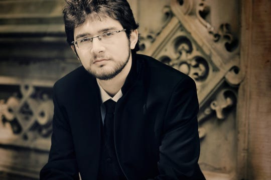 Roman Rabinovich will perform works by Gershwin, Debussy, Satie and Stravinsky as well as an original composition.