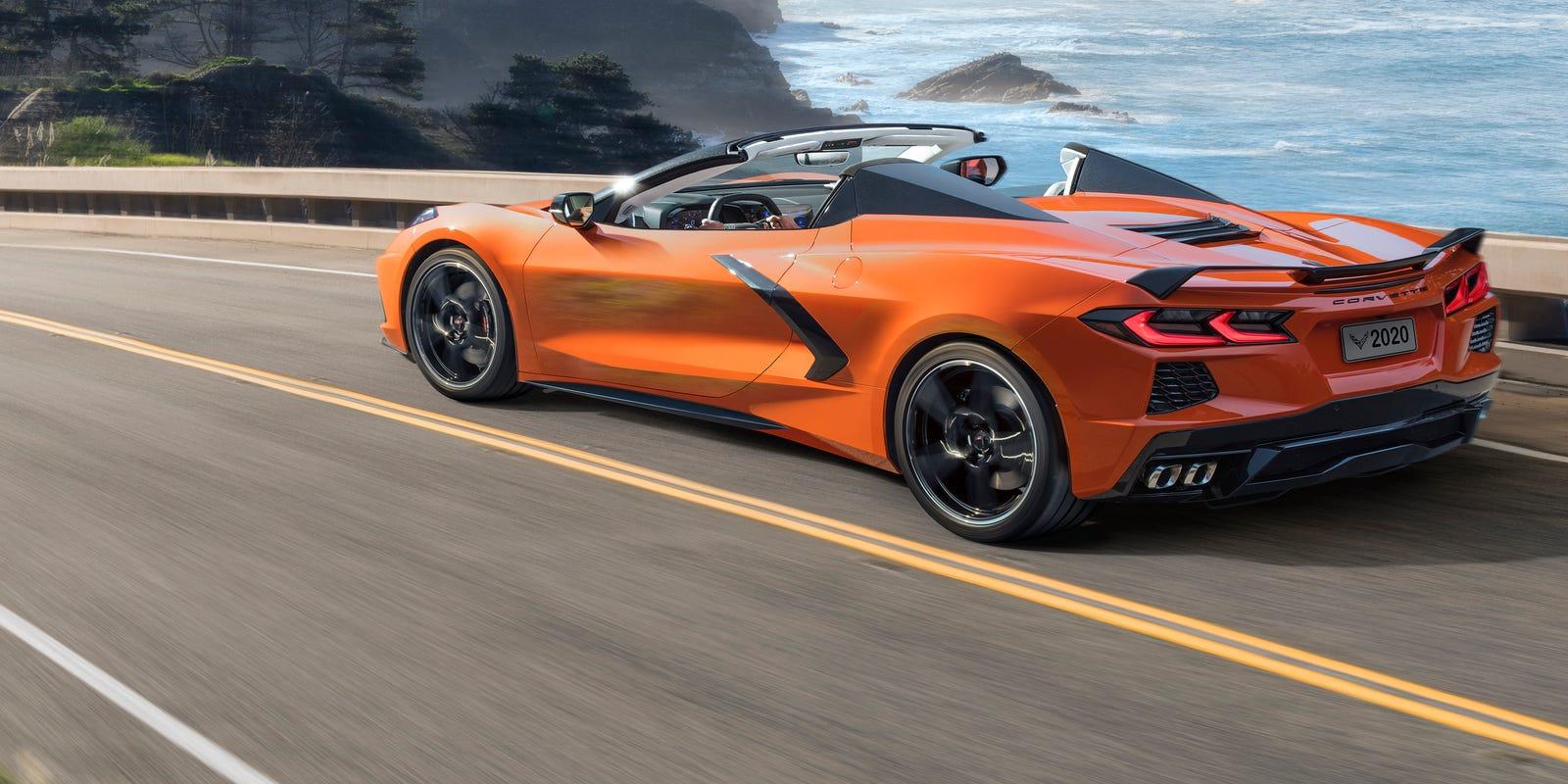 New Corvette Stingray >> 2020 Corvette Stingray Convertible Gm Reveals First Vette