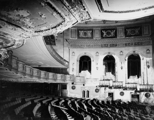 By 1970, Orchestra Hall had fallen into ruin after sitting vacant for  years.