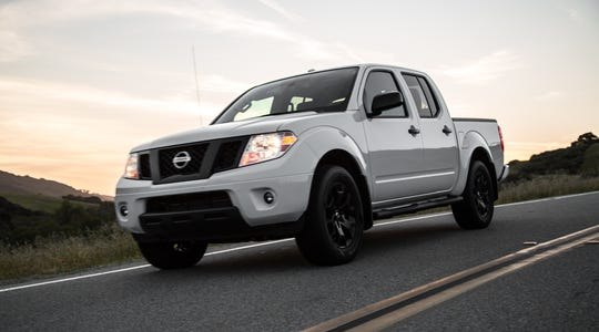 Sales of Nissan brand pickups and sport utility vehicles – which tend to be more lucrative than passenger cars – dropped 21% in Sept. The 2019 Nissan Frontier pickup is shown.