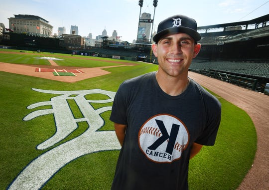 Detroit Tigers pitcher Matt Boyd, a 2019 Michiganian of the Year, at Comerica Park in Detroit, Michigan  on September 13, 2019.