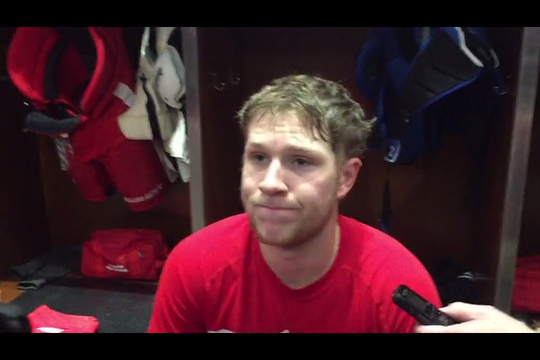 Cholowski talks about what it took to make Red Wings' roster