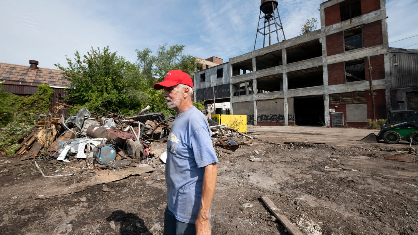 'I haven't had my day in court': Packard Plant's resident leaves after eviction