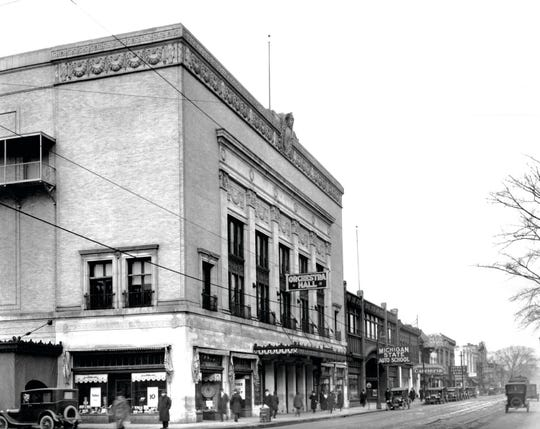 Architect C. Howard Crane's Orchestra Hall, shortly after its 1919 opening.