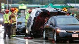 Three vehicle crash on Military Road at Highway 41