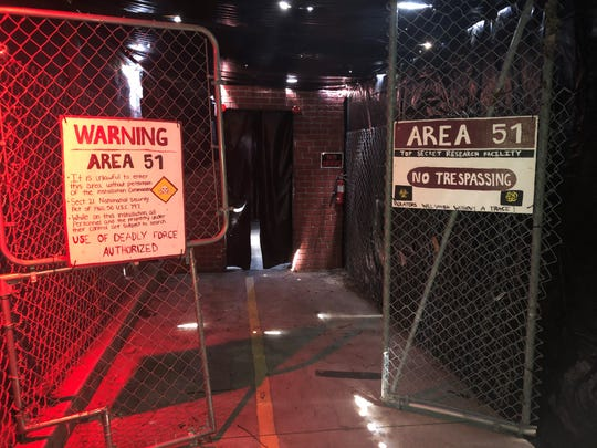 There might be an alien encounter in Area 51 at the new Frightmare on 78.