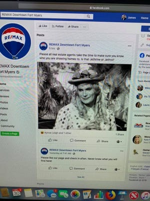 "A post made on the official REMAX Downtown Fort Myers Facebook page is being called out as ""transphobic."""