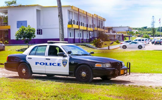 Guam Crime Stoppers is calling on the community to help them find perpetrators responsible for breaking into George Washington High School twice this week. PDN file photo.