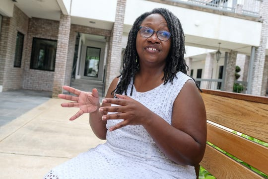 Latasha Willis, 44, has suffered from anxiety and depression since the early 1990s. Today she works for the library system and is a NAMI Certified Peer-to-Peer Leader.