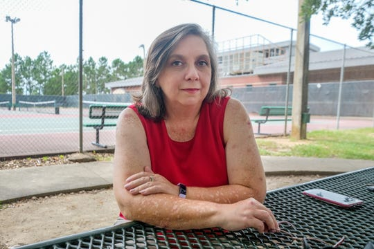 Susan Wright, 51, finds calm after a near half century of struggle with anxiety. (Charles A. Smith/Mississippi Center for Investigative Reporting)