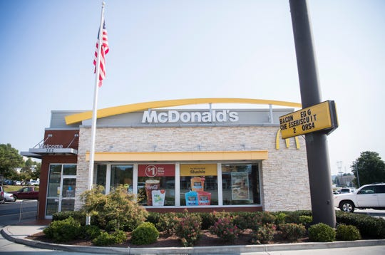 Franchise owner Joe Burger says he plans to hire 25 to 30 people for this Cedar Bluff McDonald's location.