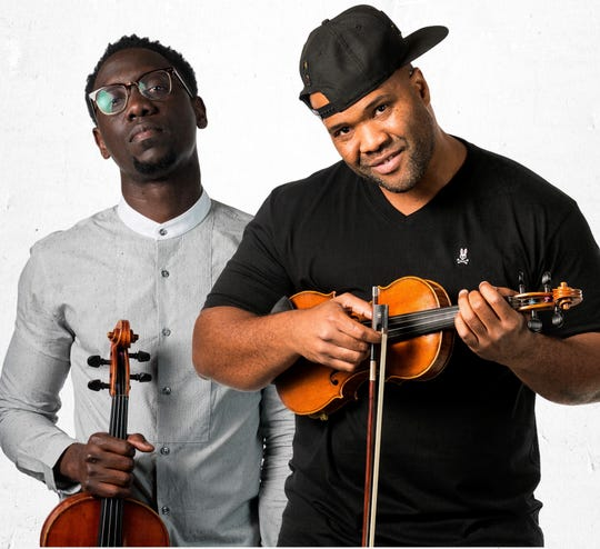 Black Violin prepares to rock the Saenger Theatre on Tuesday.