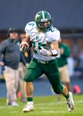 Howell's Jonah Schrock leads Livingston County in rushing with 619 yards on 102 carries.