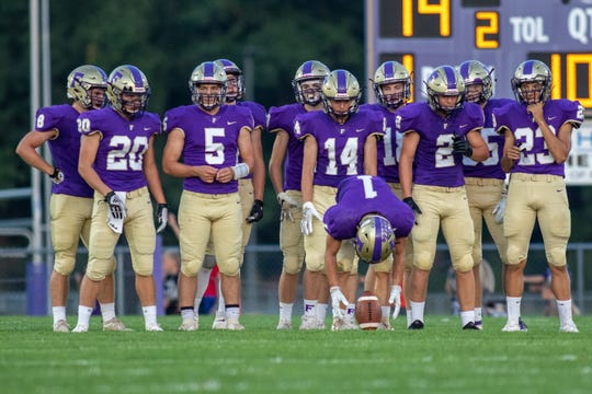 Fowlerville will host Mason in a battle of unbeatens at 7 p.m. Friday.