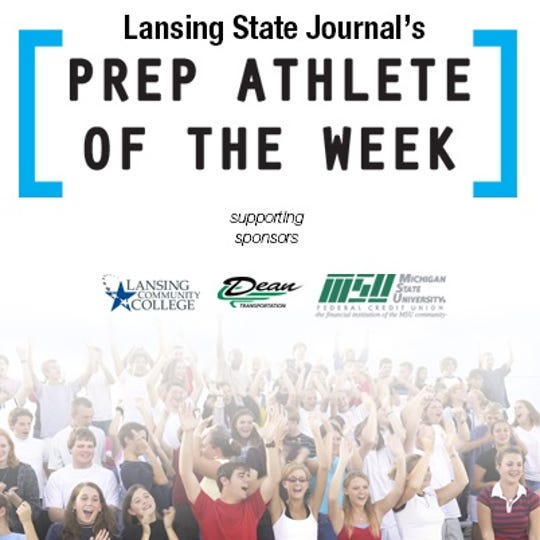 Lansing State Journal high school athlete of the week