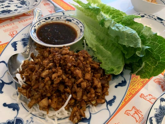 The lettuce wraps from Su's Garden, Marco Island.